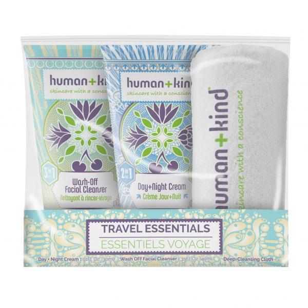 Human + Kind Travel Essentials Set