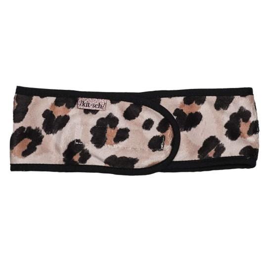 KITSCH Microfibre Spa Headband in Leopard