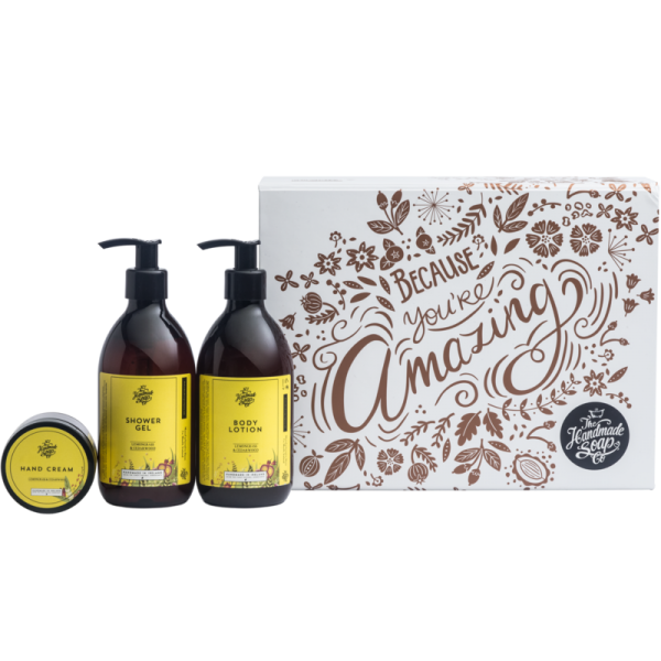 Because You're Amazing Gift Set - The Handmade Soap Company