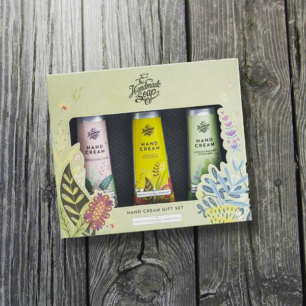 Hand Cream Gift Box - The Handmade Soap Co