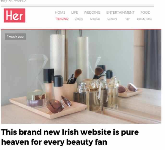 Her.ie – Amazing Review of The Beauty Kit!