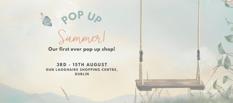 Our first ever pop up shop!